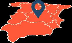 Mapa Fontaneros en Rivas